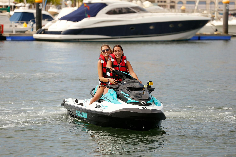 reserva tu ruta en moto de agua
